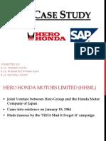 ERP Case Study-Hero Honda