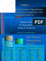 23367256 the External Environment Opportunities Threats and Industry Competition and Competitor