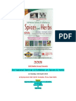 3rd National Seminar & Exhibition on Spices & Herbs