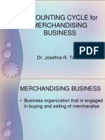Accounting Cycle for Merchandising Business