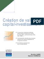 Creation de Valeur Et Capital-Investissement