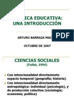 Introduccion a La Politica Educativa