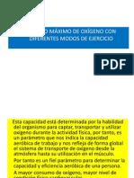 CONSUMO DE OXIGENO