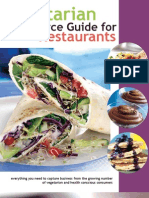 Vegetarian Resource Guide for Restaurants