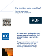 low voltage Panel Type Test IEC60439