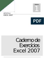Caderno de Exercicios Excel 2007