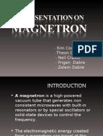 Cavity Magnetron
