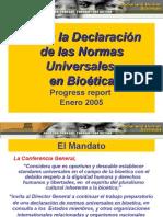 Declaracion Bioetica Unesco (Enero 2005)