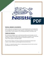 nestle vision statement 2017