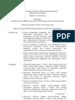 Peraturan Kepala BPN No. 3 Tahun 2011 Tentang Pengelolaan Pengkajian Dan Penanganan Kasus an