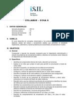 CCNA II Syllabus