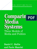 Comparing Media Systems - Daniel Hallin