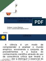 Aula 01 - Metodologia