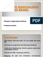 Crise Do Sindicalismo No Brasil