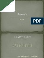 Anaemia classification