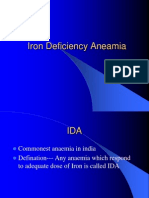 Iron Deficiency Aneamia