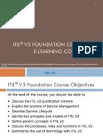 ITIL V3 Foundation Course eBook