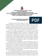 AsTransformacoes Do Estado Brasileiro Apos o Regime Militar