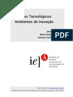 Parques Tecnológicos. Ambientes e Inovação