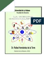 Criminalística - Universidad de La Habana
