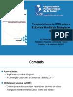 Apresentacao tabaco OPAS  09.11