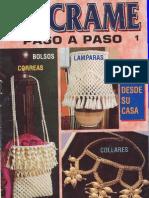 Revista Macrame Paso a Paso nº 1