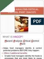 Topic 4 - Haccp