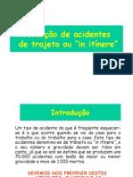 Prevenção de Acidentes Trajeto 2