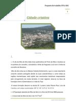 Cidade criativaSTC6 DR3