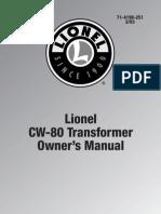 CW-80 Manual