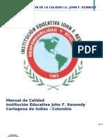 Manual de Calidad Jfk 2011