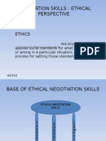 Negotiation Skills by Me