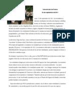 Comunicado de Prensa AIP