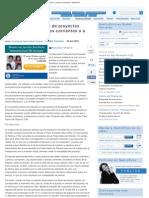 Evaluación financiera de proyectos. Proyecciones a precios corrientes o a pr