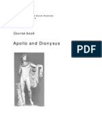 BA AC BB Year 1, Period 1 _Apollo and Dionysus_2011-2012