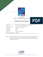 GridLab Portal Design