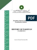 History Pakistan