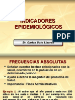 INDICADORES EPIDEMIOLOGICOS