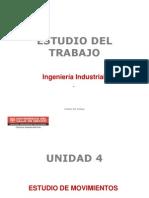 Estudio Del Trabajo Unidad 4