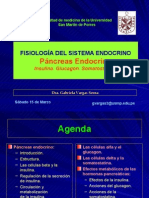 FISIOLOGÍA DEL SISTEMA ENDOCRINO Páncreas Endocrino Insulin A, Glucagon, a