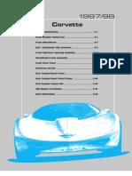 Corvette Body Complete Manual 3823KB