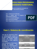 Metodologia Para Programas de to Territorial