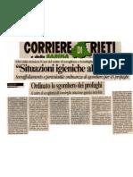 Sovraffollamento e Pericolosità = ordinanza di sgombero profughi Libici di consorzio coop TE. SA