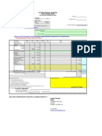 Candidate Expense Form
