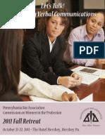 PBA Fall Retreat for Women in the Profession