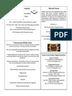 Newsletter 9-23-11