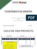 1. Fundamentos de minería