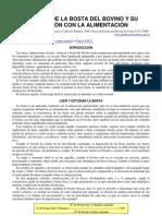 61-Heces Del Bovino y Relacion Con La Alimentacion