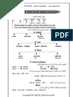 مذكرة في قواعد الانجليزية