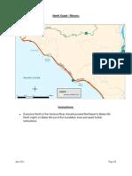 Maps for the Ventura County operational tsunami evacuation plan